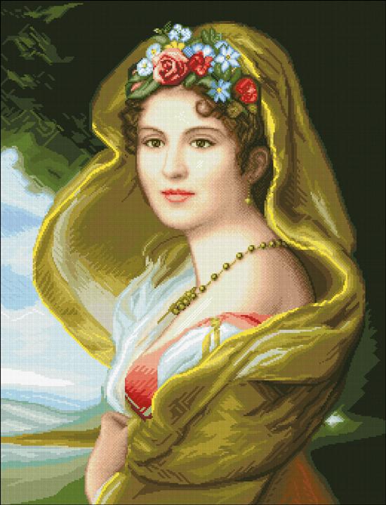 Дама с вуалью